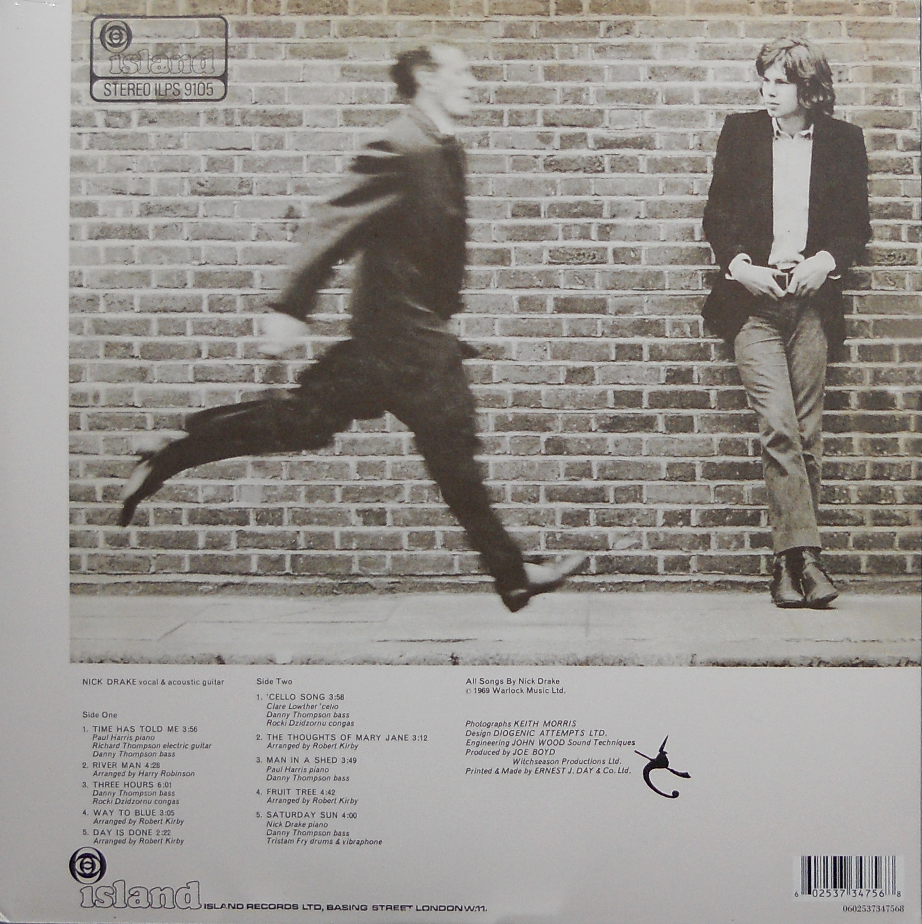 The Story Behind The : Five Leaves Left, by Nick Drake